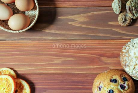 ドライフルーツ オレンジとイチジクの写真素材 [FYI02991910]