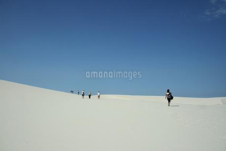 レンソイス・マラニャンセス国立公園の写真素材 [FYI02991997]