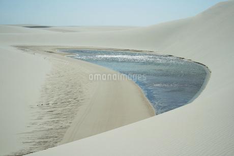 レンソイス・マラニャンセス国立公園の写真素材 [FYI02991998]