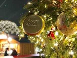 クリスマスイルミネーションの写真素材 [FYI02992514]