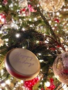 クリスマスイルミネーションの写真素材 [FYI02992515]