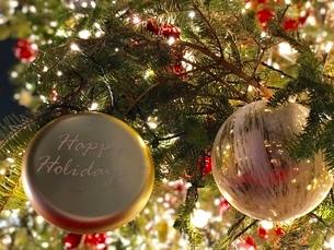 クリスマスイルミネーションの写真素材 [FYI02992516]