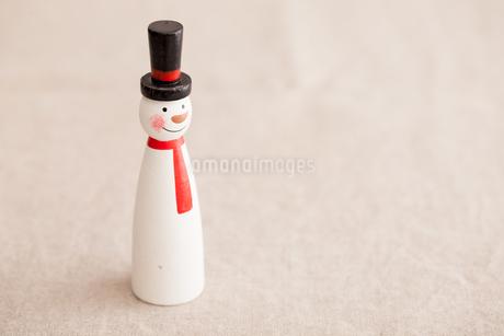 雪だるまのオブジェの写真素材 [FYI02992841]