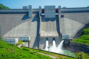 月山ダムの写真素材 [FYI02993163]