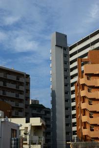 都会のビル街の写真素材 [FYI02993430]