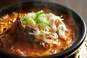 韓国チゲの写真素材 [FYI02993760]