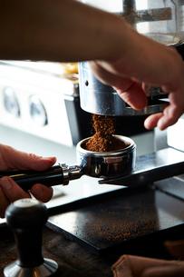 コーヒーマシーンの写真素材 [FYI02994075]