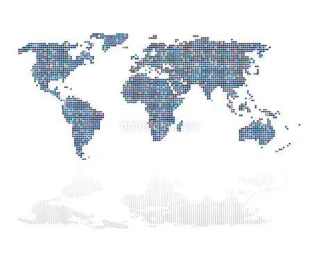 世界地図 イラストの写真素材 [FYI02994871]