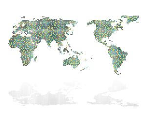 世界地図 イラストのイラスト素材 [FYI02994906]