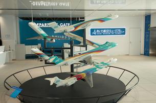 あいち航空ミュージアム JAS機モデルの写真素材 [FYI02995177]