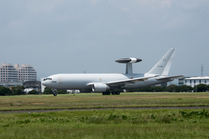 航空自衛隊 E-767 早期警戒管制機 AWACSの写真素材 [FYI02995224]