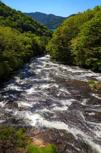 竜頭の滝の写真素材 [FYI02995403]