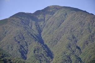 青根から眺める大室山の写真素材 [FYI02995458]