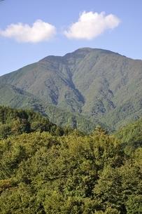 青根から眺める大室山の写真素材 [FYI02995461]
