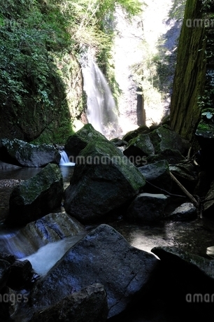 牧馬大滝の写真素材 [FYI02995486]