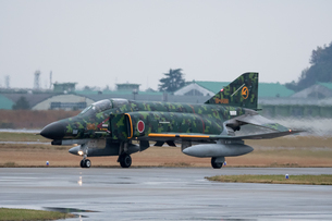 F-4ファントム 記念塗装の写真素材 [FYI02995670]