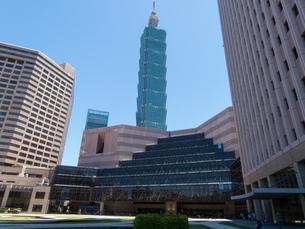 台北101の写真素材 [FYI02995913]