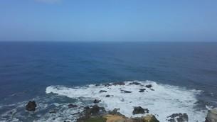 犬吠埼の海の写真素材 [FYI02996113]