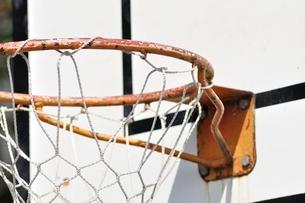 バスケットゴールの写真素材 [FYI02996223]