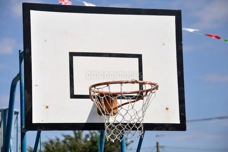 バスケットゴールの写真素材 [FYI02996224]