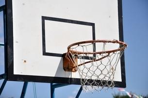 バスケットゴールの写真素材 [FYI02996225]