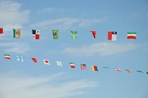万国旗の写真素材 [FYI02996230]