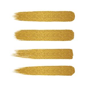 金色 ラメ ブラシ セットのイラスト素材 [FYI02996678]