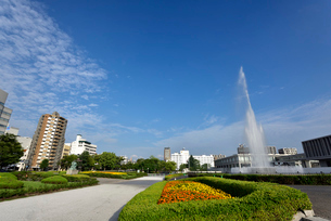 広島平和記念公園の写真素材 [FYI02996904]