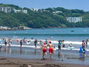 神奈川県 湯河原海水浴場の写真素材 [FYI02997046]