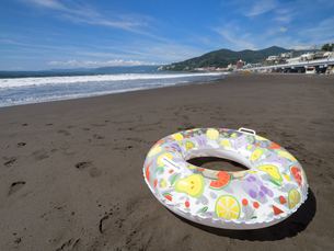 神奈川県 湯河原海水浴場の写真素材 [FYI02997047]