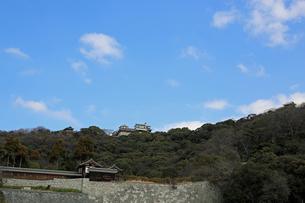 堀之内からの松山城の写真素材 [FYI02997246]