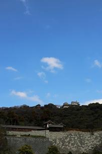 堀之内からの松山城の写真素材 [FYI02997247]