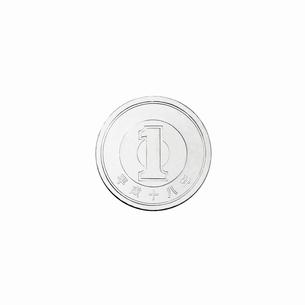 1円玉の裏の写真素材 [FYI02997655]