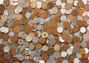 コインの集合の写真素材 [FYI02997665]