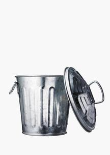 ゴミ箱と蓋の写真素材 [FYI02997676]