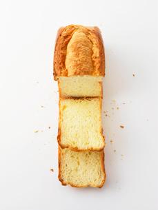 カットされた食パンの写真素材 [FYI02997740]