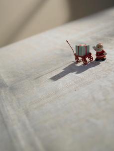 サンタクロースの人形の写真素材 [FYI02997942]