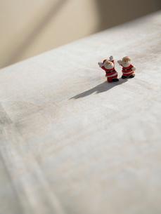 サンタクロースの人形の写真素材 [FYI02997943]