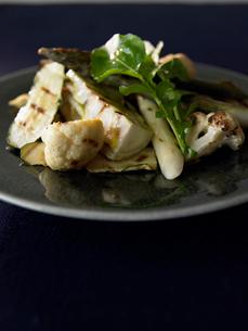焼き野菜のサラダの写真素材 [FYI02998051]