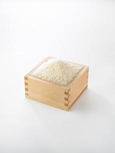 升に入れたお米の写真素材 [FYI02998146]