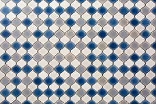 モロッコ風タイルの写真素材 [FYI02998395]
