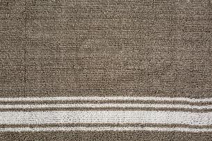 白い模様の入ったマットの写真素材 [FYI02998410]