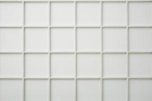 白い格子の写真素材 [FYI02998424]