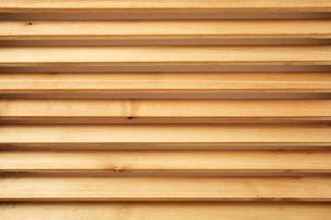 木製のブラインドの写真素材 [FYI02998443]