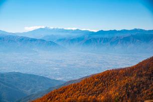 美ケ原より乗鞍岳を望むの写真素材 [FYI02998717]