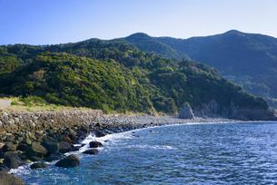 神渡海岸 ニニギノミコト上陸地の写真素材 [FYI02998980]