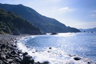 神渡海岸 ニニギノミコト上陸地の写真素材 [FYI02998982]