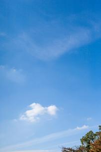 青空と雲の写真素材 [FYI02999139]