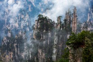 天子山 御筆峰の写真素材 [FYI02999181]