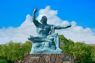 平和祈念像の写真素材 [FYI02999276]